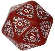 Q-Workshop Level Counter D20 Oversize Dice 20 Sided Die Red/White QWS 20LEV03