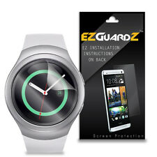 2X EZguardz LCD Screen Protector Skin Cover HD 2X For Samsung Gear S2 Smartwatch
