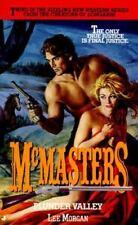 McMasters : Plunder Valley by Lee Morgan (1995, Paperback)