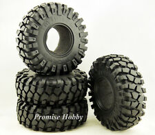 140mm diameter 2.2 rubber tire tyre w/ foam insert for 1/10 rc crawler car