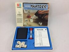 VINTAGE WORD YAHTZEE 1979 BY MB GAMES