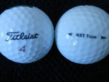 "20  TITLEIST  ""NXT TOUR""   Golf Balls - ""PEARL/A"" Grades.- *SPECIAL  OFFER*"