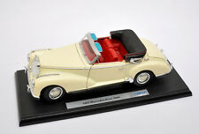 Mercedes Benz 300S 1955, Welly scala 1:18 #9859 con base 01