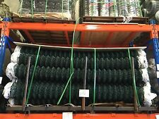 Green PVC Chain-Link Fence On Sale Now!  2.1m*10m only $74