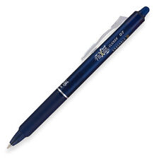 """Pilot Frixion Clicker Erasable Gel Ink Retractable Pen, Navy Ink, .7mm"""