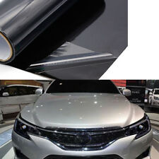 1Role Auto Car Smoke Fog Light Headlight Taillight Tint Vinyl Film Black Sticker