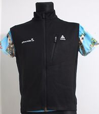 Mens ODLO Switzerland Vest Black poliester Elastan Ski Snow Winter Hikking M