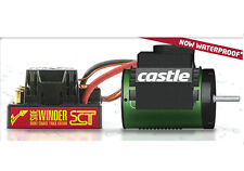 Castle SCT Sidewinder Waterproof  ESC & 3800kV Motor Combo W/5mm Slash 4x4