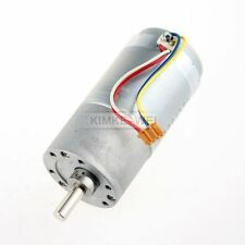 37mm 12V DC 300RPM Replacement Torque Gear Box Motor