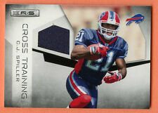 CJ Spiller RC 2010 Rookies & Stars Cross Training Rookie Game Used Jersey SP/299