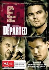 The Departed (2006) Leonardo DiCaprio, Matt Damon, Jack Nicholson - NEW DVD - R4