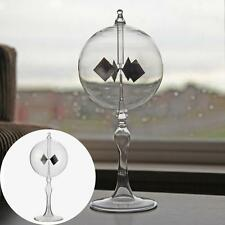 9cm Crookes Radiometer Glass Solar Power Decorative Light Mill Home Office Decor