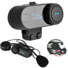 Freedconn Motorcycle Helmet Bluetooth Headset Intercom Interphone For Phone Z9V4
