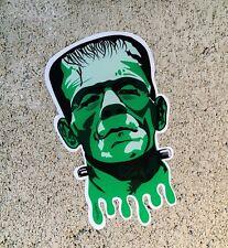 """Frankenstein's Monster Horror Cut Vinyl 4"""" Sticker Slap Decal Indoor Outdoor"""