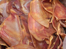 (100) LARGE PIG EARS. 100% NATURAL, FRESH DOG TREATS. NOT PICKED THROUGH.
