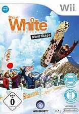 Nintendo Wii +Wii U SHAUN WHITE SNOWBOARDING WORLD STAGE *NEU