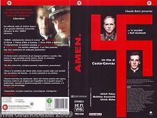 AMEN (2002) VHS ORIGINALE 1ª EDIZIONE