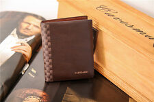 Mens Designer  Leather Wallet From Fuerdanni,Brown New And Sealed