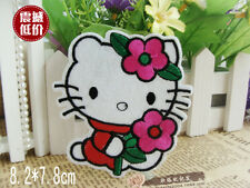 Sew on & iron on  patches(flower Hello Kitty)