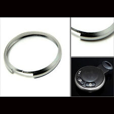 Sliver Metal Protective Ring Keyring For 08-Up Mini Cooper Smart Key Remote Case
