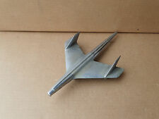 1955 CHEVROLET HOOD ORNAMENT EMBLEM # 3709685 art deco jet hawk chrome car part