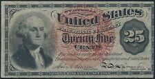 Fr1302 25¢ 4Th Fractional Currency Au Br5610
