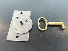 Terry Clock Steel door lock with Brass Key