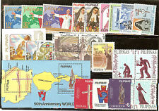 LOT PHILIPINES TIMBRES NEUFS ** THEME RELIGION, CROIX, EGLISES ECT...