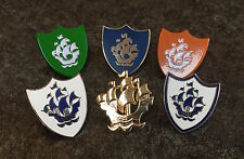 COMPLETE SET OF 6 BLUE PETER ENAMEL PIN BADGES | BBC KIDS CHILDREN TV | CHARITY