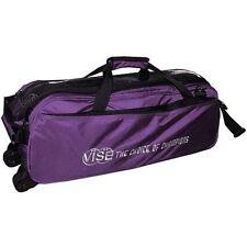 Vise Purple 3 Ball Tote Bowling Bag
