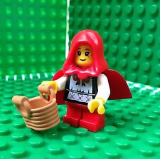 Lego Little Red Riding Hood Minifigures Grandma Visitor City Town 8831 Series 7