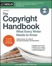 The Copyright Handbook: What Every Writer Needs to Know, , Good Condition, Book