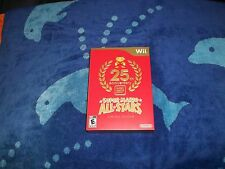 Super Mario Bros. 25th Anniversary-Limited Edition-wii & wiiu new & seal intact