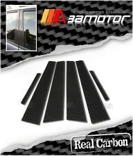 Real Carbon Fiber Door Pillar Panel Decal Covers Mazda 6 Mazda6 GG 2003-2008