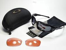 OAKLEY SPLIT JACKET ARRAY MATTE BLACK SONNENBRILLE JAWBONE RACING FAST FLAK EYE