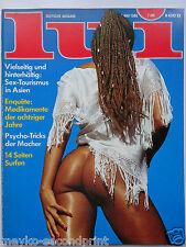 D - Lui 5/1980, Jango Edwards, Anna Bennent, Malcolm Lowry, Covergirl Cathy