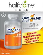 One A Day Women's 50+ Multivitamin, 220 Tablets Healthy Advantage, Cell Health