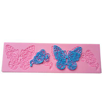 Butterfly Cake Decorate Silicone Mold Cookie Fondant Sugar Baking Maker Mould