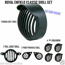 Combo Head Light Shade +Tail+Cap Indicator +Parking grill  Royal Enfield Classic