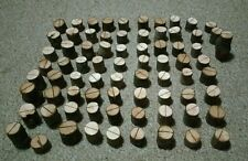 60x Mini Wooden Place Name Holders Wedding Branch Small Rustic Card Stand Log