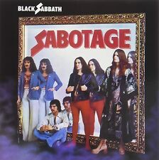 BLACK SABBATH 'Sabotage' Factory Sealed LP 12'' Album And Cd - New & Sealed