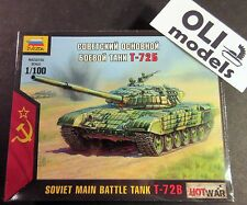 1/100 Soviet Main Battle Tank T-72B - Art of Tactic HOT WAR - Zvezda 7400