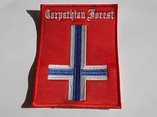 CARPATHIAN FOREST EMBROIDERED PATCH