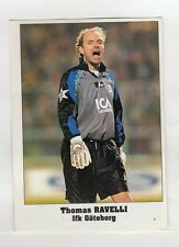 figurina EUROCUPS STAR PARADE 1994-95 NUMERO 74 IFK GOTEBORG RAVELLI