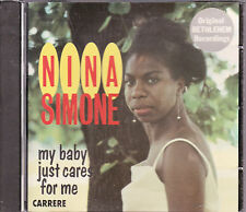 CD 12T NINA SIMONE MY BABY JUST CARES FOR ME 1985 MADE IN FRANCE