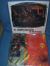NIRVANA MTV UNPLUGGED  180 GRAM AUDIOPHILE PALLAS PRESSING VINYL LP SEALED