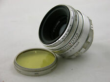 Russian Helios 44 58/2 58 mm 1:2 silver m39 screw mount biotar copy