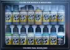 WW2 RAF, FAA Aircraft Colors: 16 Airbrush Paint Set (Acrylic, Vallejo 71189)