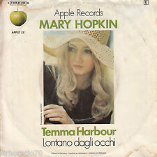 MARY HOPKIN Temma Harbour / Lontano Dagli Occhi 45 - Apple - Beatles