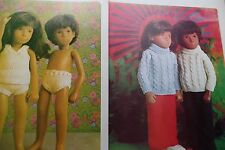 SASHA  DOLLS KNITTING SEWING CRAFT PATTERNS CLOTHES projects copy
